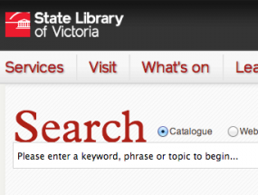 State Library of Victoria – Web identity & presence