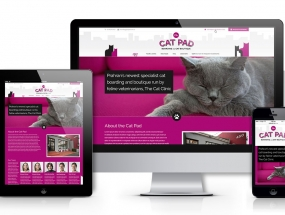 The Cat Pad website